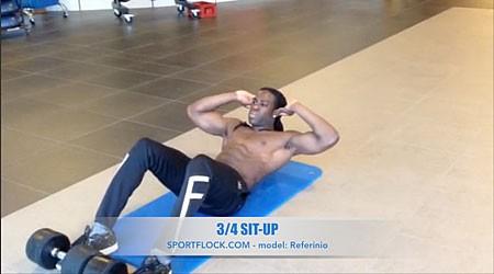 3/4 Sit-Up