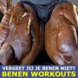 Vergeet jij je benen niet? Benen workouts!