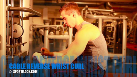 Palms-Down Cable Wrist Curl