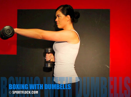 Boxing Dumbbells