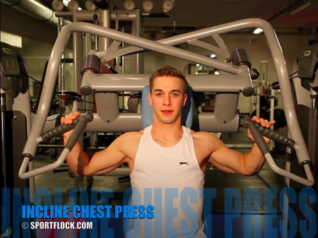 Leverage Incline Chest Press