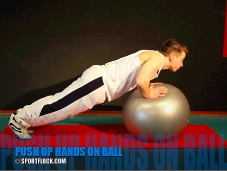 Medicine-Ball Push-Ups