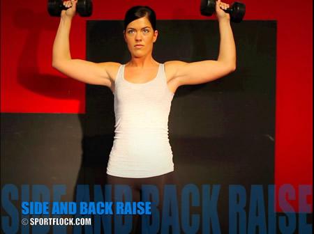 Side Raise Shoulder Press