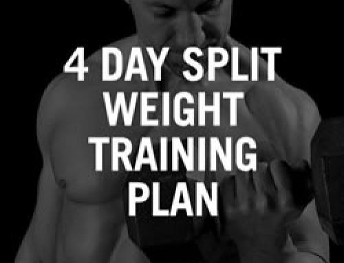 Split Workout 4 dagen